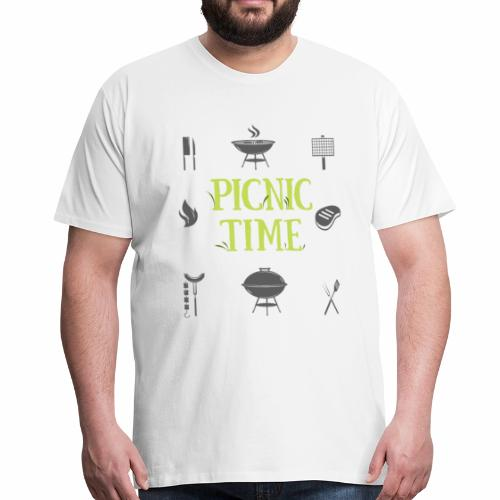 picnic time - T-shirt Premium Homme