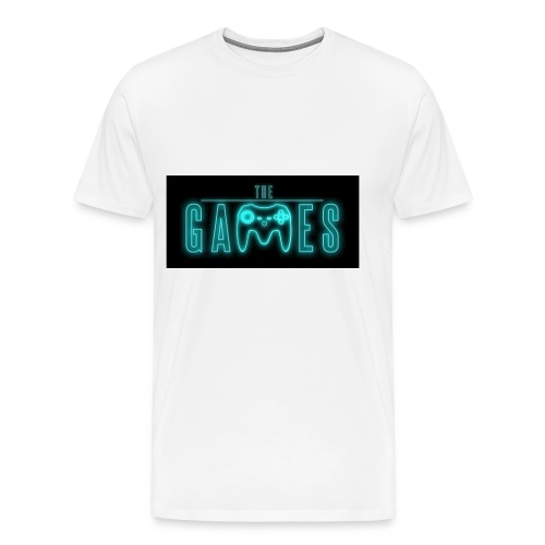 the games logo - Männer Premium T-Shirt