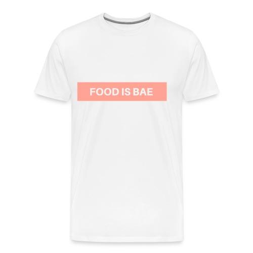 Food is bae - Männer Premium T-Shirt