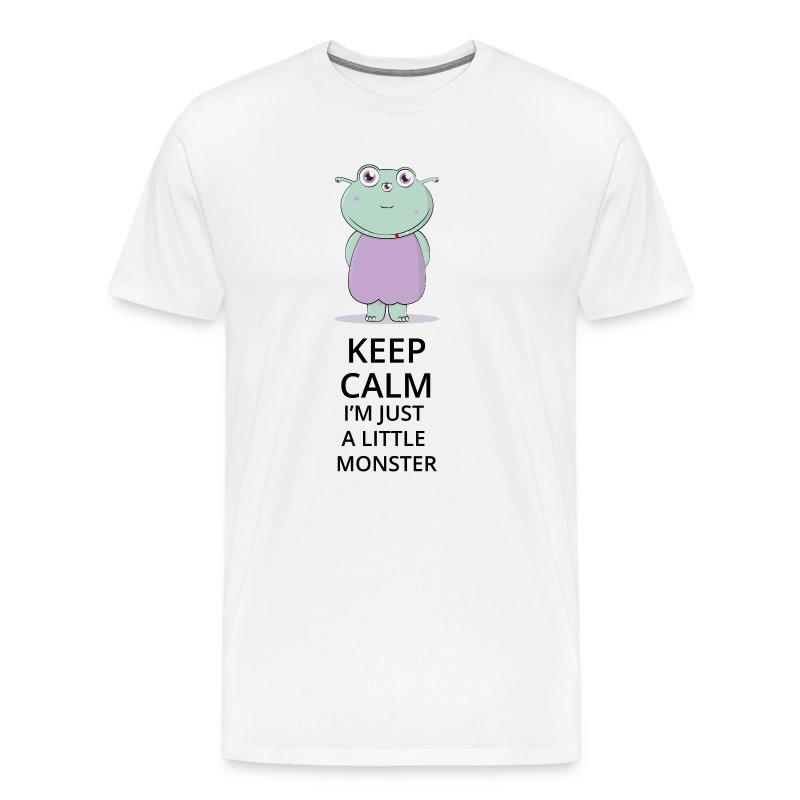 Keep Calm - Little Monster - Petit Monstre - T-shirt Premium Homme