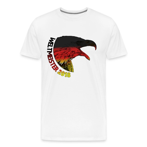 Deutschland Weltmeister 2018 Fußball WM Russland - Männer Premium T-Shirt