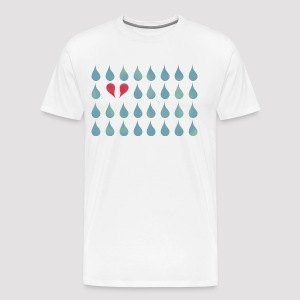 Two Drops in Love Grafisch - Männer Premium T-Shirt