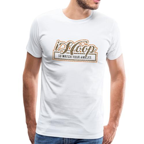 Basketball iHoop colorize - Männer Premium T-Shirt