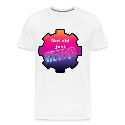 not old just retro - Men's Premium T-Shirt