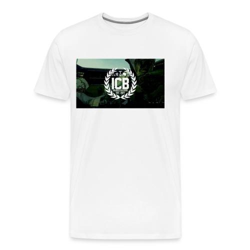 ICB Logo mit Hintergrund - Männer Premium T-Shirt