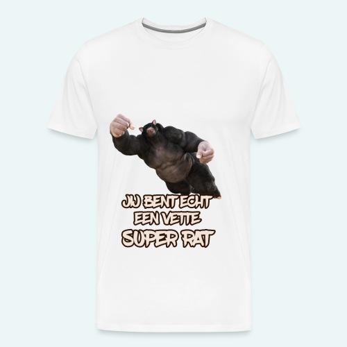 Super rat - Mannen Premium T-shirt