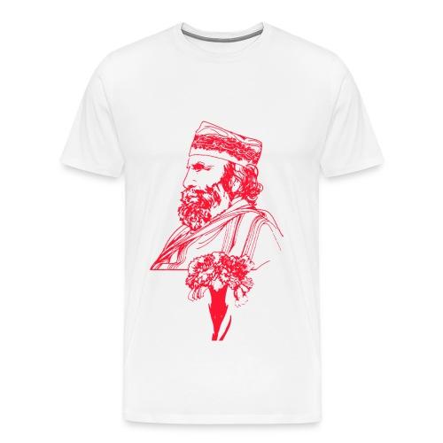 Garibaldi con garofano - Maglietta Premium da uomo
