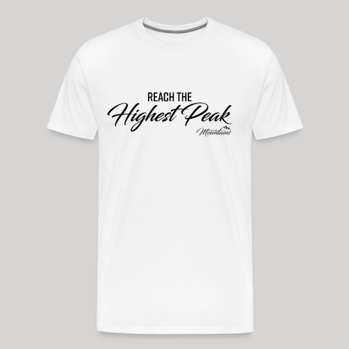 Highest peak - Männer Premium T-Shirt