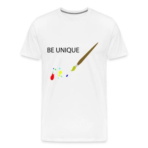 Be Unique - Männer Premium T-Shirt