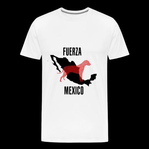 FUERZA MEXICO - Camiseta premium hombre