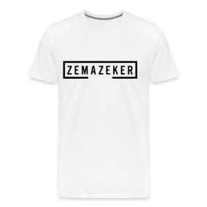 Zemazeker - Mannen Premium T-shirt