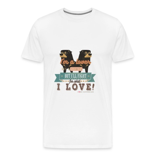 I'm a lover - without Background - Männer Premium T-Shirt