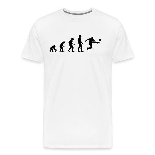 Fußball Bundesliga Evolution Sport Spiel Geschenk - Männer Premium T-Shirt