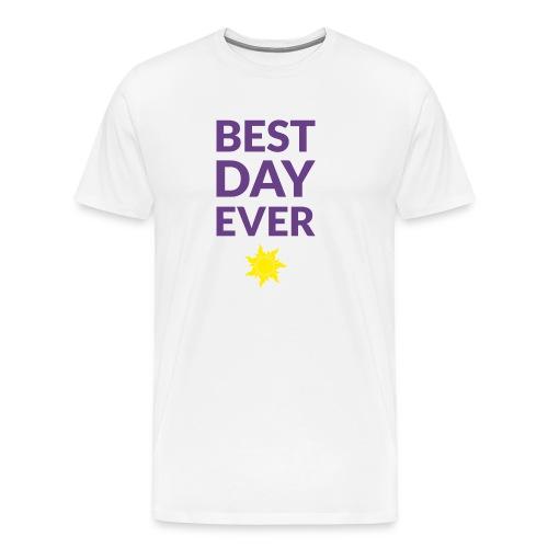 Best day ever - Tangled (dark) - Men's Premium T-Shirt