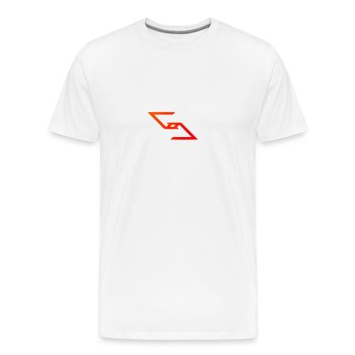 Logo et paterne de la marque. - T-shirt Premium Homme