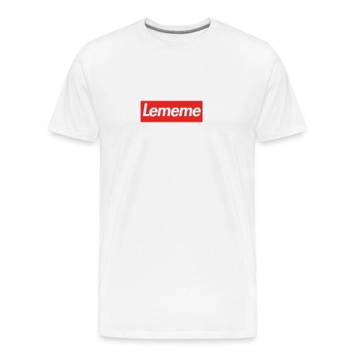 LE MEMExSupreme - Premium-T-shirt herr