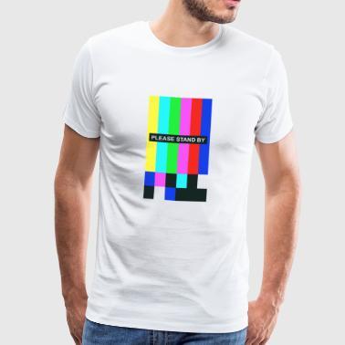 standby - Herre premium T-shirt