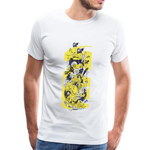 Jolly Chimp - Männer Premium T-Shirt