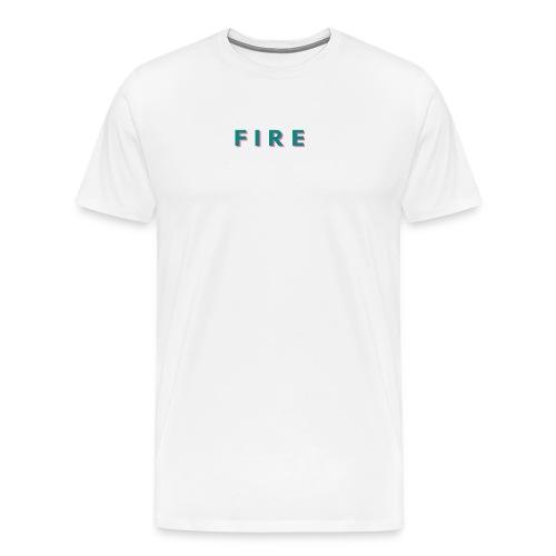 Fire - Herre premium T-shirt