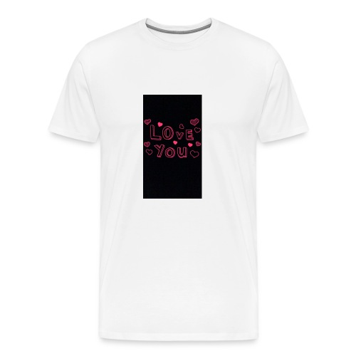 Love❤️Everybody - Premium-T-shirt herr