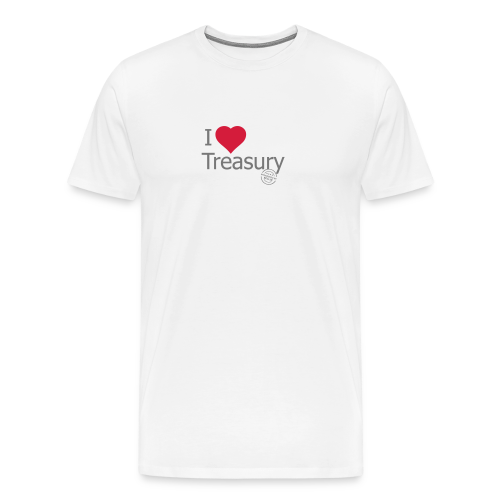 I LOVE TREASURY - Men's Premium T-Shirt