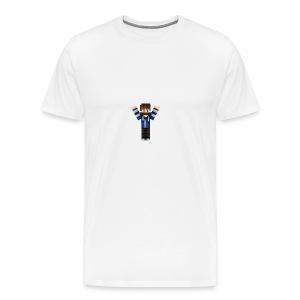BlueTroopGaming Skin MC - Premium T-skjorte for menn