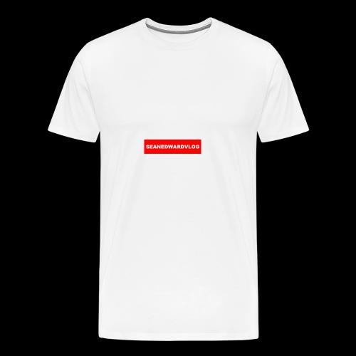 seanedwardvlogs red box style - Men's Premium T-Shirt