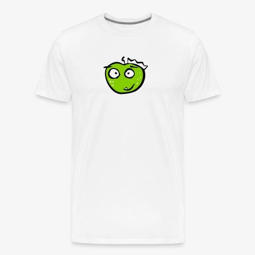 Apfelkönig Der Grüne - Männer Premium T-Shirt