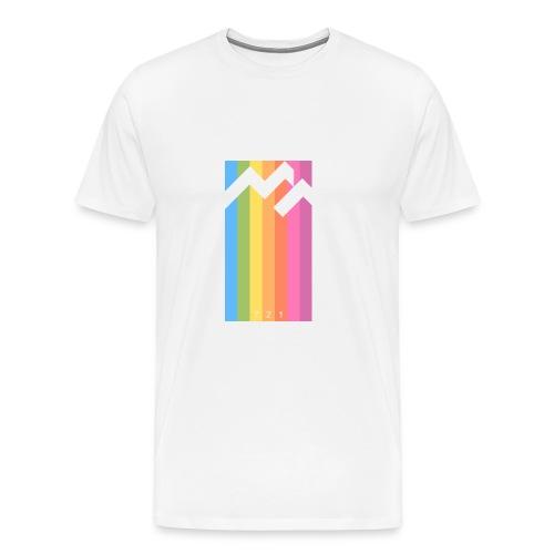 C o l o r - Maglietta Premium da uomo
