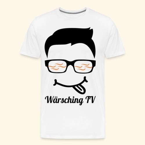 Logo WaerschingTV - Männer Premium T-Shirt