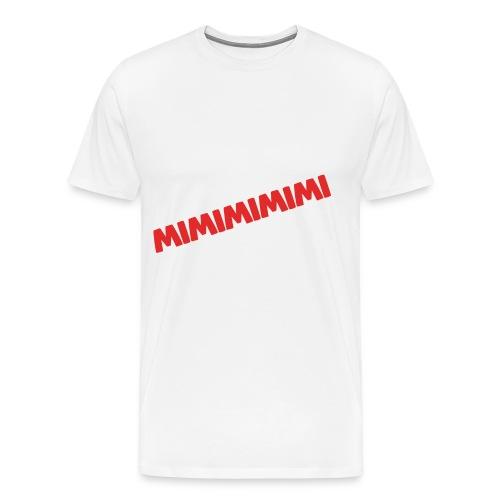 MIMIMIMIMIMI... - Männer Premium T-Shirt