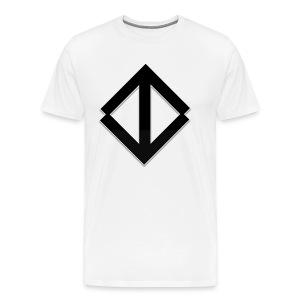 Big Black Logo - Premium-T-shirt herr