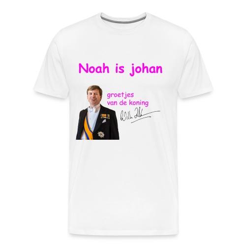 Noah is een echte Johan - Mannen Premium T-shirt