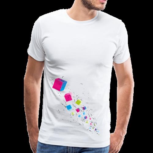 Cubechaos - Party und Open Air Festival Motiv - Männer Premium T-Shirt