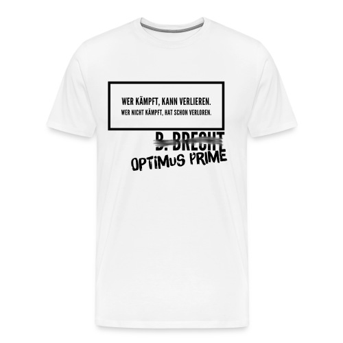 Optimums Prime - Männer Premium T-Shirt