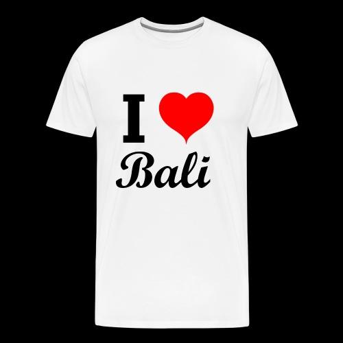 I love Bali - Men's Premium T-Shirt