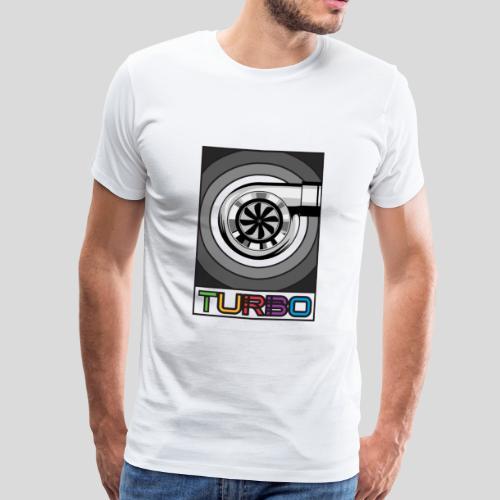 BoostApparel Design - Vintage Turbo - Männer Premium T-Shirt