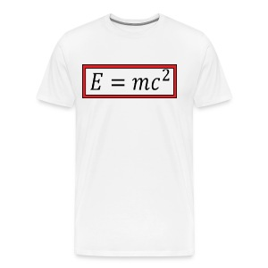 e = mc^2 - Men's Premium T-Shirt