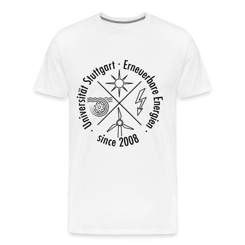 Erneuerbare Energien Schwarz - Männer Premium T-Shirt