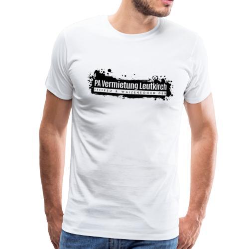 PA Vermietung Leutkirch Logo mit Klex - Männer Premium T-Shirt