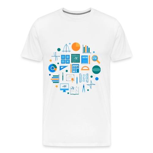 Les mathématiques - T-shirt Premium Homme