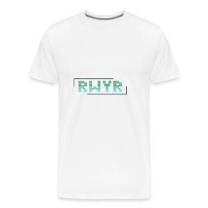 RWYR Normal White - Mannen Premium T-shirt