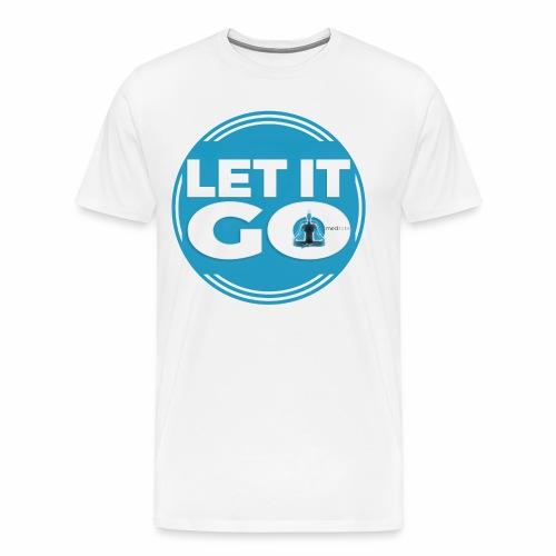 Let It Go // Meditare - Maglietta Premium da uomo
