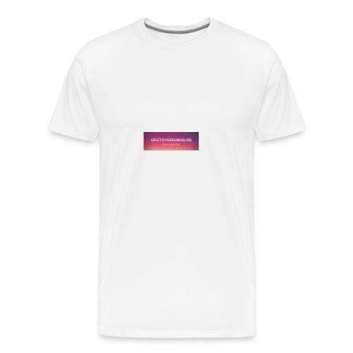 Grütziversum.blog - Männer Premium T-Shirt