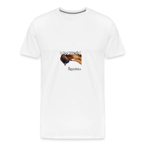 Wachhund Boxerliebe - Männer Premium T-Shirt
