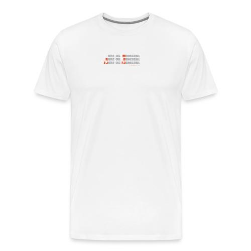 Møre og Romsdal - Premium T-skjorte for menn