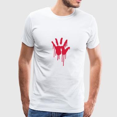 6061912 121813127 Blut - Männer Premium T-Shirt