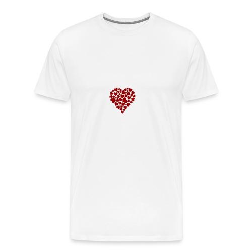 Corazoncitos - Camiseta premium hombre
