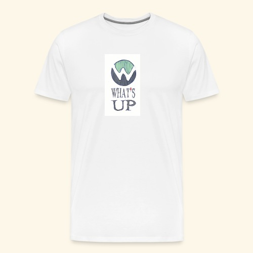 Logo Whats up - T-shirt Premium Homme