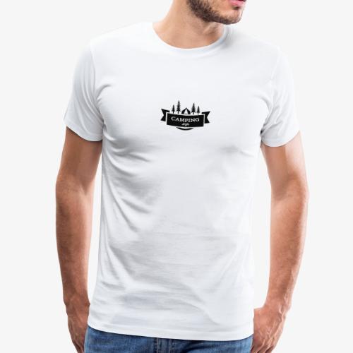 camping life - Camiseta premium hombre